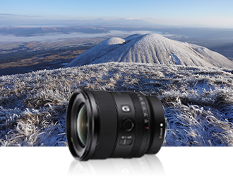 MySony-20mm f/1.8 G lens